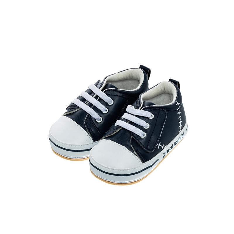 歌瑞家(greatfamily)男婴运动宝宝鞋GBS1-006SH蓝12CM双