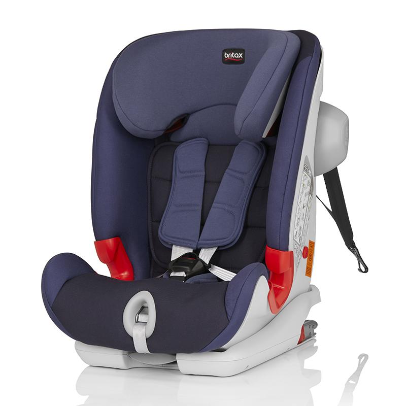 宝得适(britax)百变骑士IISICT儿童安全座椅宝宝座椅皇室蓝