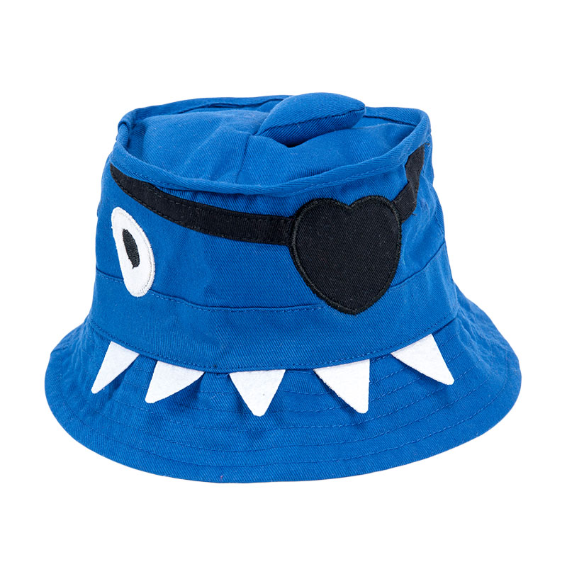 歌瑞凯儿中性海盗盆帽GB161-051A蓝44cm顶