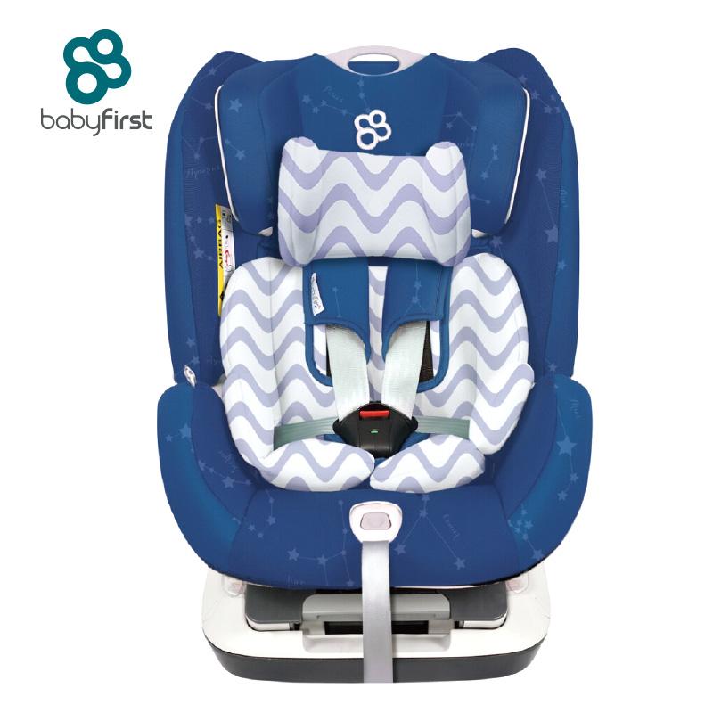 宝贝第一(Babyfirst)儿童安全座椅宝宝座椅太空城堡钻石版星座蓝R102A