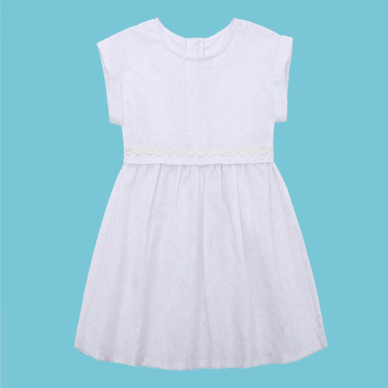 歌瑞家A类女童梭织连衣裙两色可选