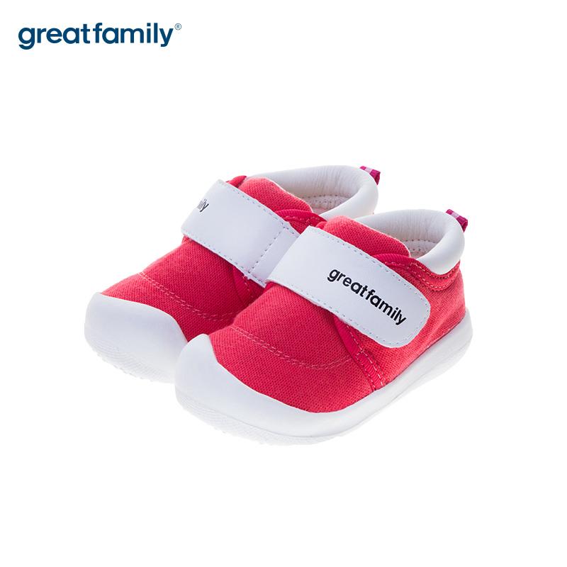歌瑞贝儿(新)女婴宝宝鞋GB183-008SH红12CM双