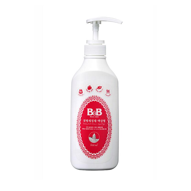 保宁B&B韩国进口宁奶瓶清洁剂600ml水果清洗液