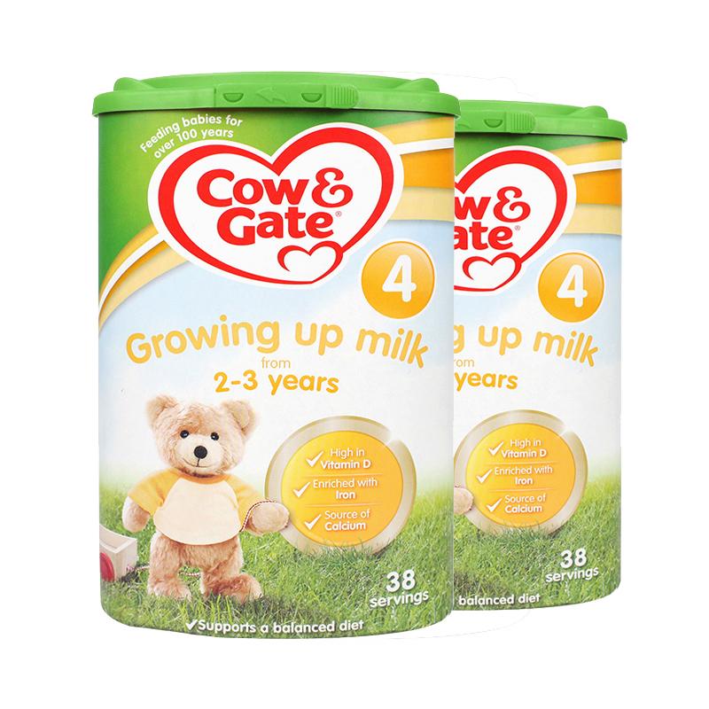 【英国直邮包税】英国牛栏婴幼儿奶粉4段(2-3Y)800g*2罐