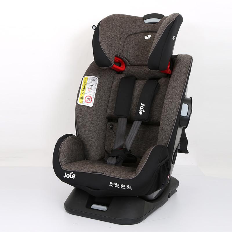 巧儿宜(Joie)儿童双向安全座椅宝宝座椅安全守护神FX(灰色)0-12岁isofix接口