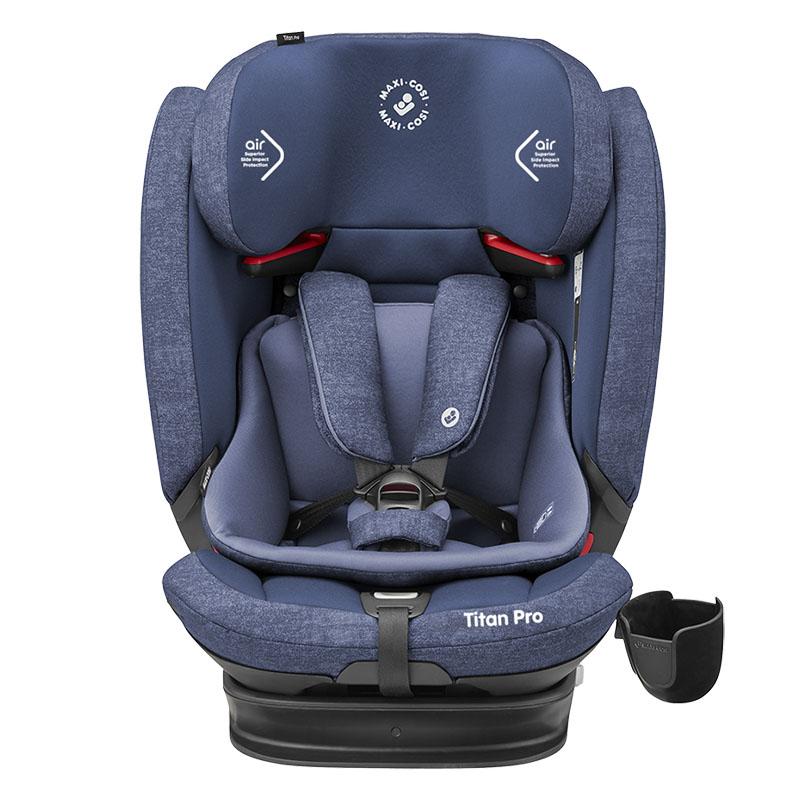 Maxi-cosi迈可适-Titan Pro睿智小巨人G123儿童汽车安全座椅游牧蓝(9-36KG)约9个月-12岁