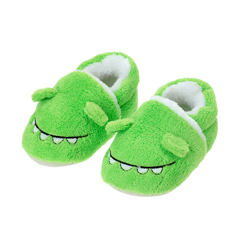 歌瑞贝儿(新)男婴鳄鱼宝宝鞋GBR4-002SH绿12CM双