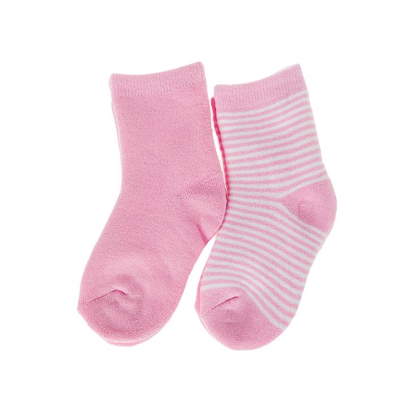 歌瑞贝儿女童条纹毛巾袜(2双装)