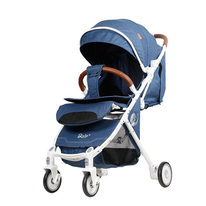 Bair婴儿车D289 轻便折叠便携式迷你可坐可躺带拉杆宝宝儿童推车