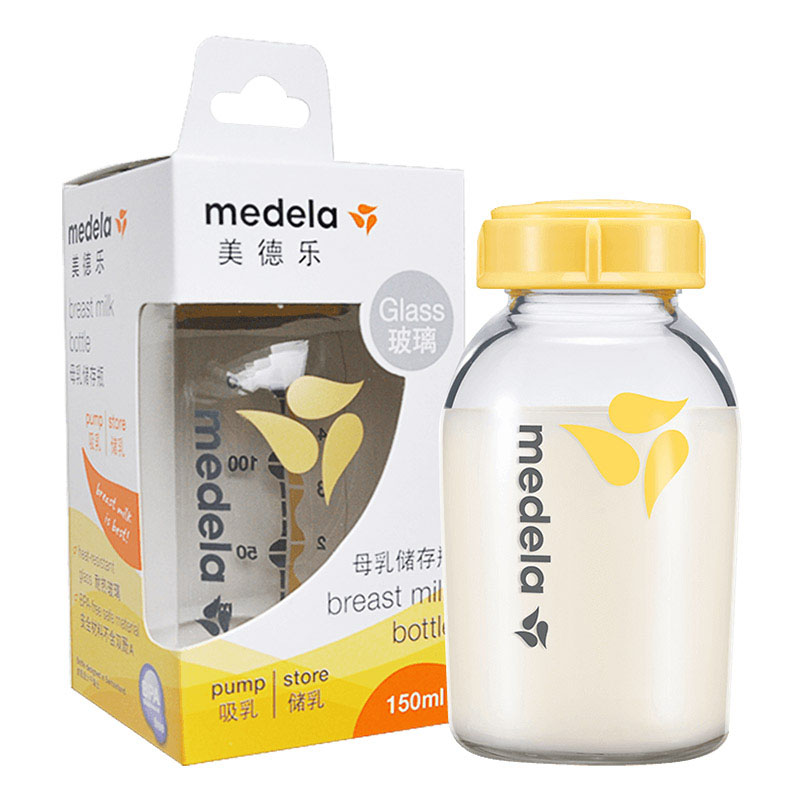 美德乐Medela母乳玻璃储存瓶(250ml)