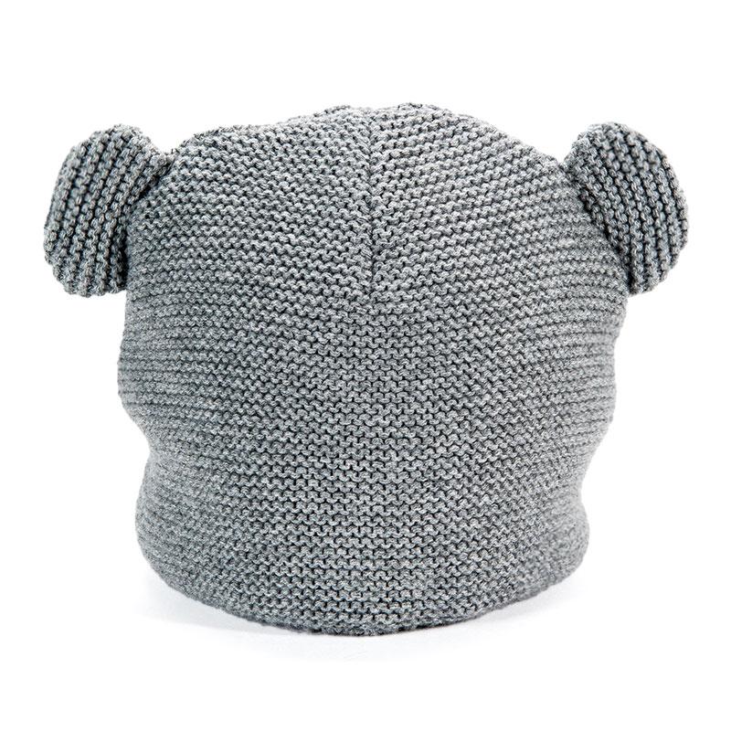 歌瑞家greatfamily中性灰色针织帽
