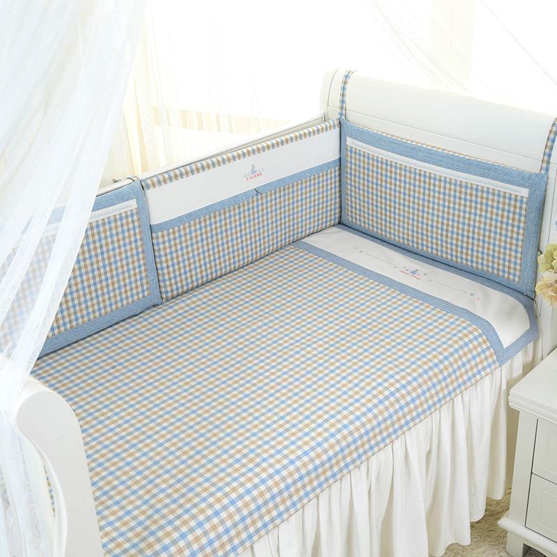 良良格彩苎麻凉席(标准加大)125*74(cm)蓝LL16B02-2B