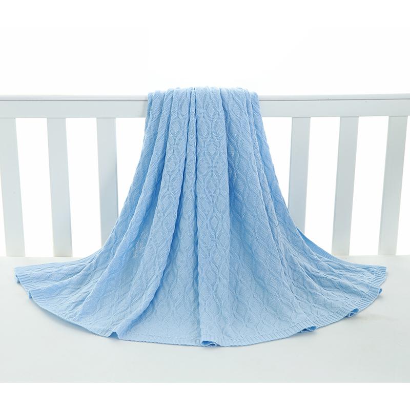 良良柔语冰丝毯蓝色L码