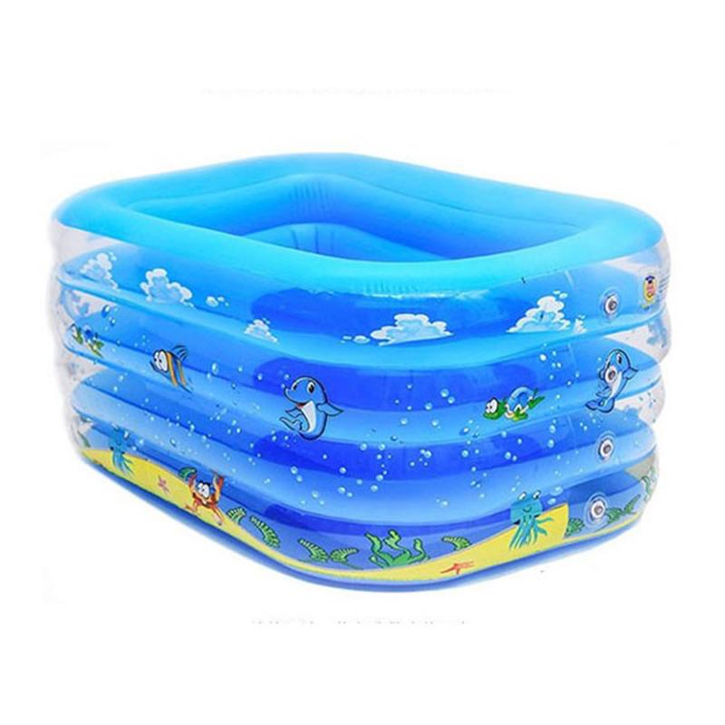 马博士婴幼儿方形充气游泳池