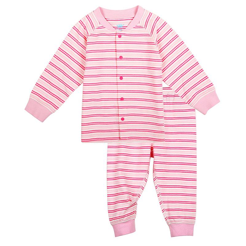歌瑞家A类男女宝宝纯棉对襟套装2色可选