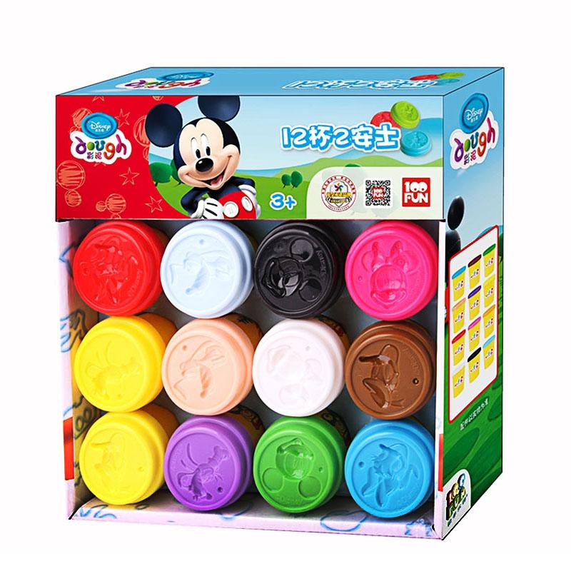 壹佰分迪士尼(Disney)轻粘土 手工太空彩泥橡皮泥
