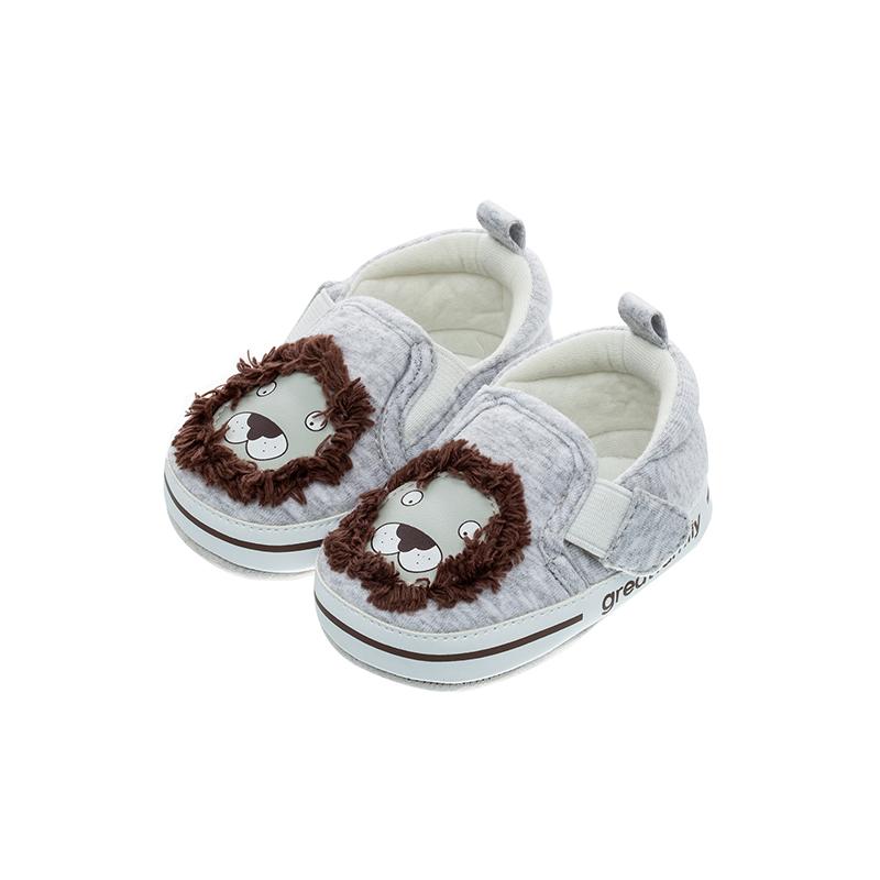 歌瑞家(greatfamily)男婴小动物宝宝鞋GBS1-002SH灰11CM双