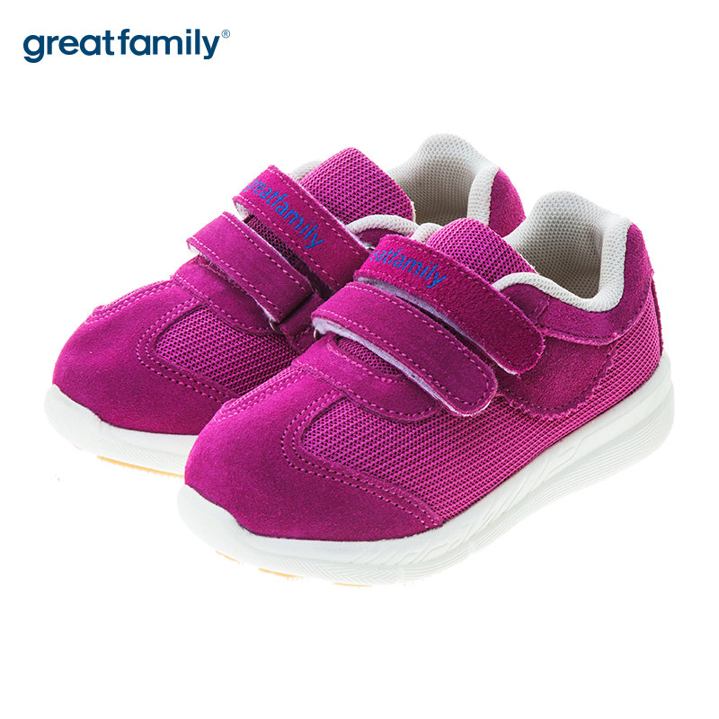 歌瑞贝儿(新)女婴机能鞋GB183-022SH梅红14CM双