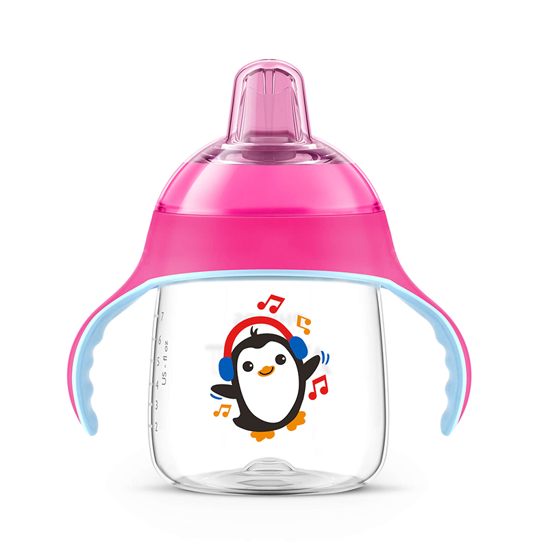 飞利浦新安怡九安士卡通企鹅杯(粉色)